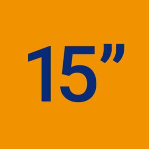 15 Pouces