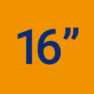 16 Pouces